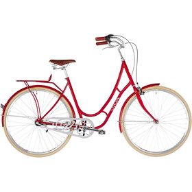 Viva Bikes Juliett Entry Damer, dark red
